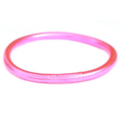 Armband buddhist good luck pink