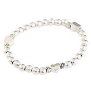 armband silver love