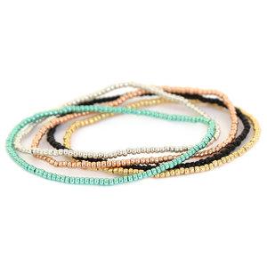 Bead bracelet set