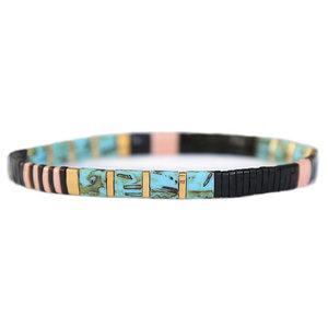 Oyster black bracelet